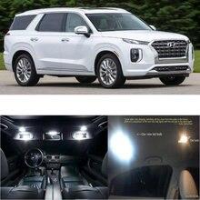 Led interior lights For Hyundai Palisade 2020 11pc Led Lights For Cars lighting kit automotive bulbs Canbus