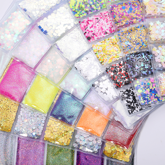 6 Patterns/Bag Nail Sequins