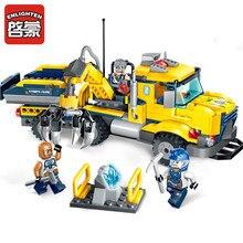Legoingly Construction Engineering Building Block Technic Kyanite Squad Transporter 3 Figure 309pcs Bricks Toy Boy Gift