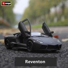 Bburago 1:24 Lamborghini Reventon alloy car model simulation car decoration collection gift toy цена