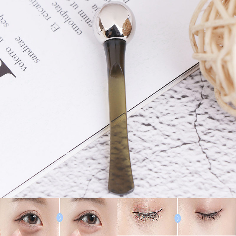 1Pcs Silk Eye Cream Massage Applicator The Lifting Eye Serum Massager Tool Eye Care Wrinkle Remove Firming Absorption Tools
