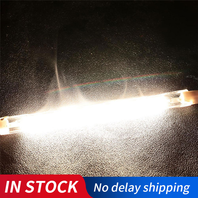 R7S Halogen Bulb Iodine Tungsten Tube Tungsten Lamp 118MM AC220-240V 100W Bright Household Supplies