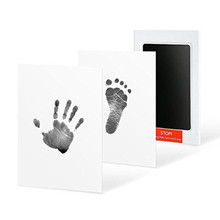 Новорожденный отпечаток чернильный коврик набор отпечаток руки детский сувенир литье ребенок ручная печать глиняная игрушка подарок ребенок нетоксичный отпечаток