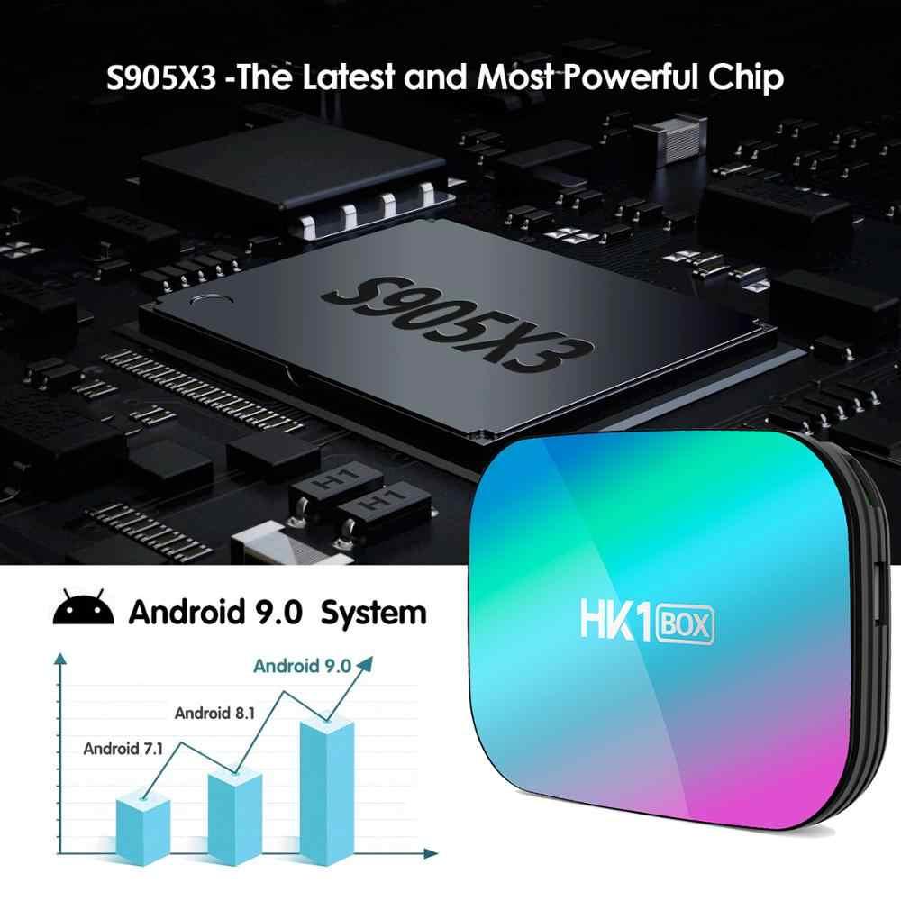 אנדרואיד 9 טלוויזיה תיבת 4GB 128GB 8K Amlogic S905X3 1000M מדיה נגן 5G Wifi 4K 60fps Google נגן נטפליקס Youtube ממיר חדש