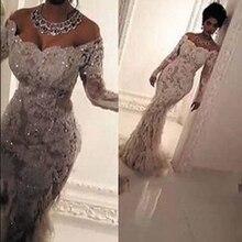SuperKimJo Off białe suknie ślubne 2020 szata De Mariee luksusowe pióro syrenka koronki aplikacja zroszony świecący suknie ślubne 2021
