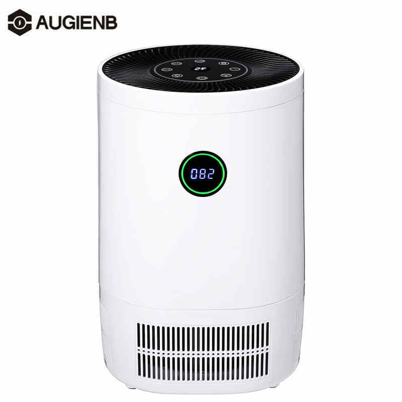 AUGIENB Air Purifier For Home True HEPA Filters Desktop Purifiers Filtration Air Cleaner 200 M3/h CE For Smokers Pollen