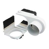 65mm 직경 집진기 먼지 커버 브러시 cnc 스핀들 모터 밀링 머신 라우터 도구 밀링 머신 도구 -