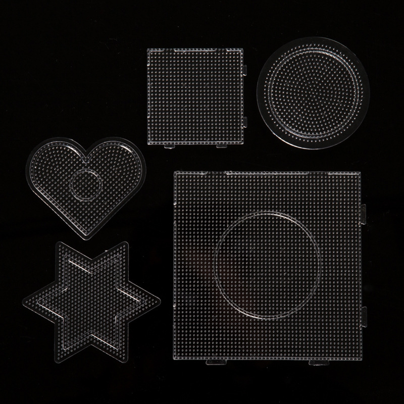 2.6mm Hama Bead Pegboards 3D Puzzle Template For Perler Fuse Beads Kids Educational Toys Fuse Beads Jigsaw Puzzle  Grownups