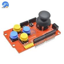 Геймпады контроллер Джойстик Клавиатура щит для Arduino nRF24L01 Nk 5110 ЖК-дисплей IEC 3,3 В джойстик PS2 плата контроллера