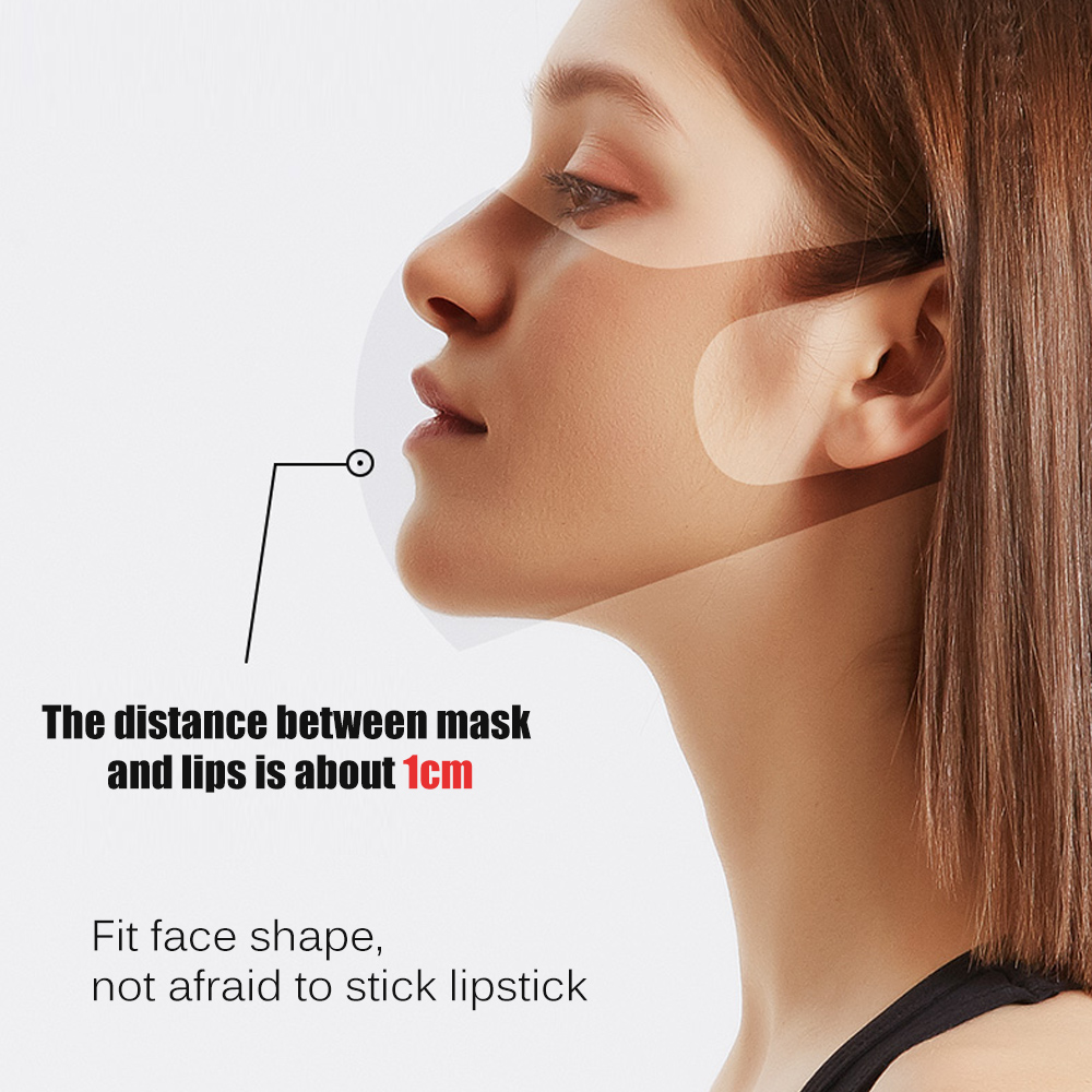 2Pcs/Lot Sponge Dust Masks - Respirator Mask with Breath Valve Anti-Dust Anti Pollution Face Mouth Mask Breathable for Men Women 1