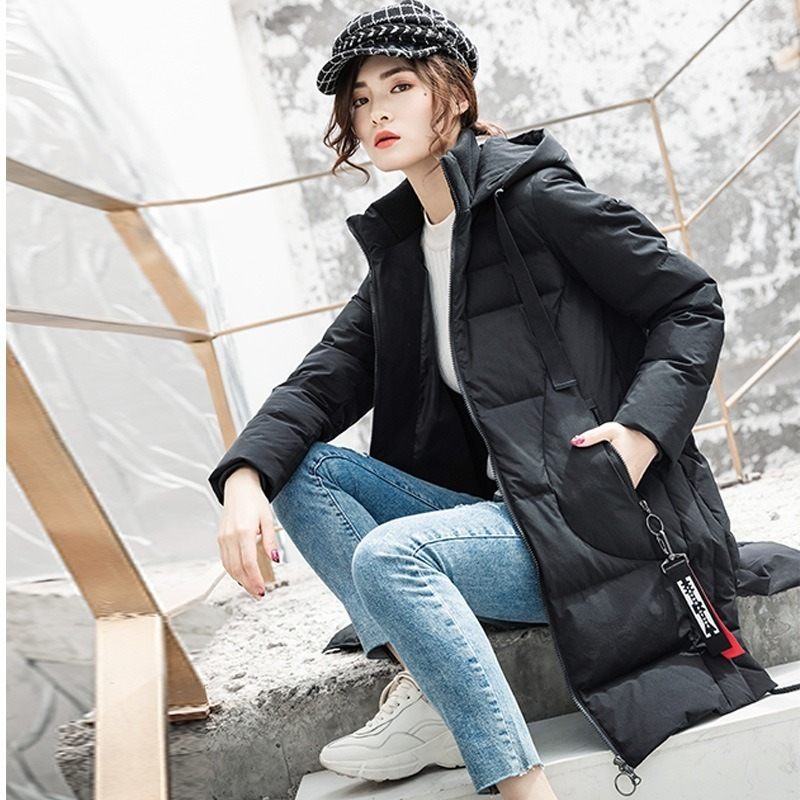 Winter Coat Women Korean 90% White Duck Down Jacket Women Down Coat Puffer Jacket Parka Casaco 6832 YY1315