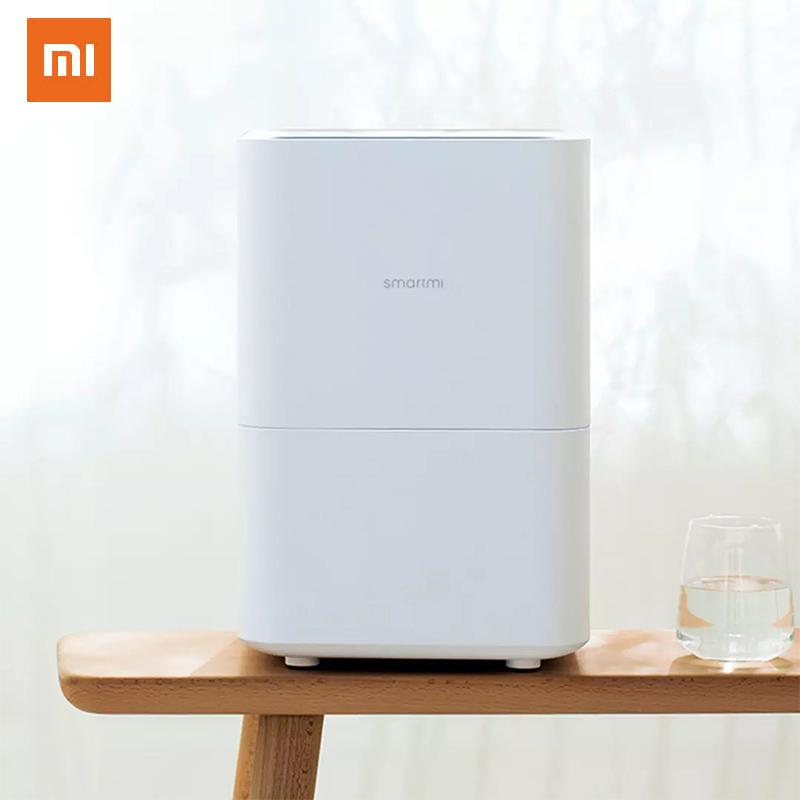 XIAOMI MIJIA SMARTMI Convenient Simplicity Evaporative Humidifier For Home Air Dampener Aroma Diffuser Direct Evaporation