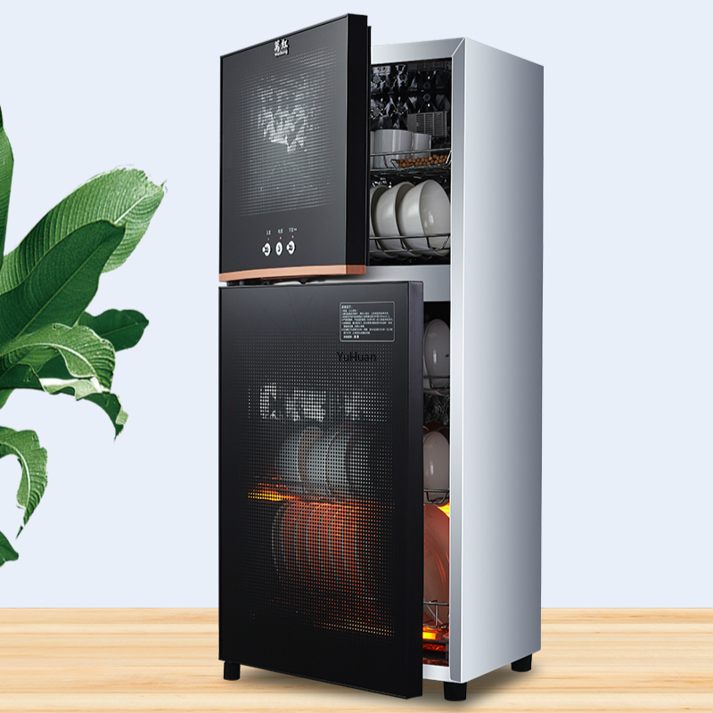 Home  Ozone Disinfection Cabinet Mini High Temperature Stainless Steel Kitchen Restaurant Cupboard  Disinfection  Disinfection