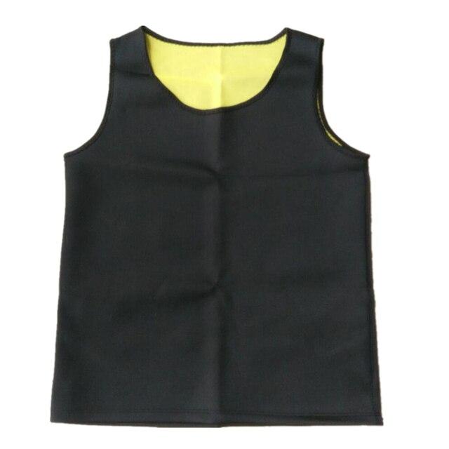 Plus size Men Body Shaper Modeling Vest Belt Belly Men Reducing Shaperwear Fat Burning Loss Weight Waist Trainer Sweat Corset 4