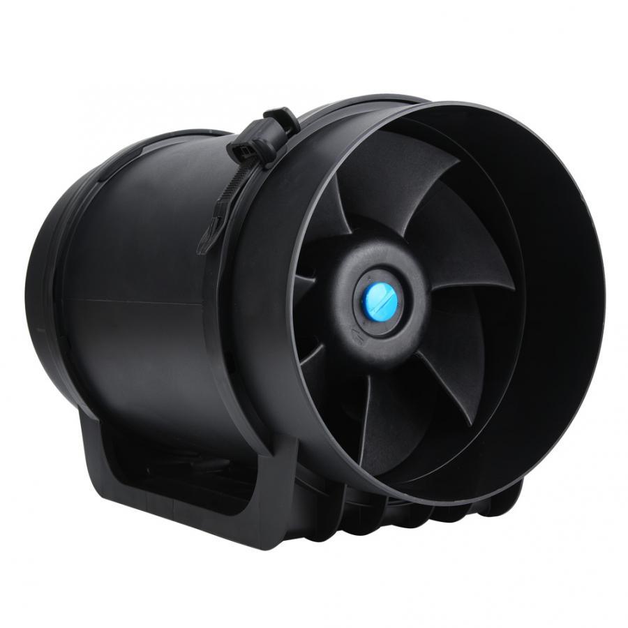 Régulateur ventilateur ventilateur 8in EC moteur Ventilation ventilateur d'échappement conduit ventilateur PWM régulateur de vitesse réglable 760CFM ventilateur centrifuge