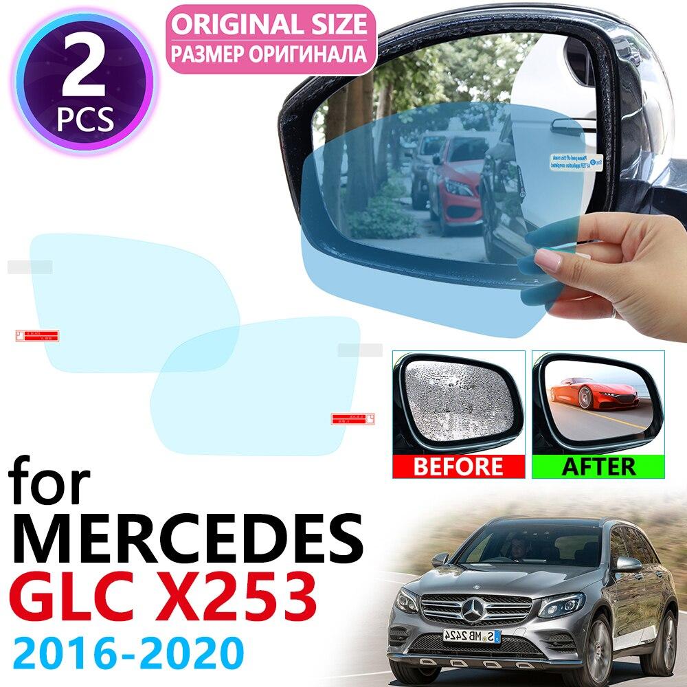 Rear Bumper Protector Cover for 2016-2017 Mercedes-Benz GLC Class GLC300 Mirror