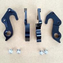 цена на 2pcs CNC Bicycle gear rear derailleur hanger For Kalkhoff Track cross series Raleigh Rushhour Focus Whistler MECH dropout frames