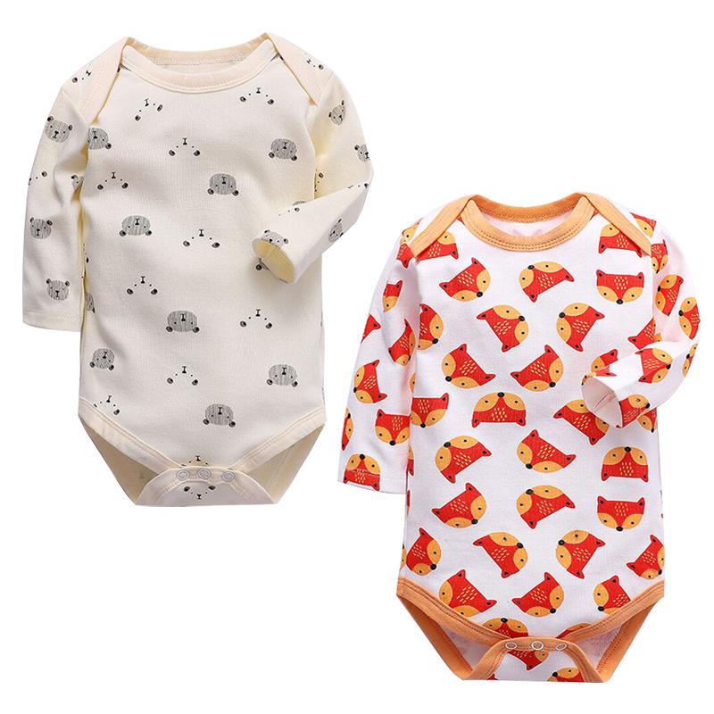 Baby Bodysuit Newborn 100% Cotton Body Baby Long Sleeve Underwear Infant Boys Girls Clothes Baby's Sets