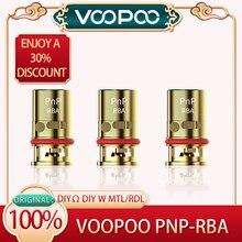 Original Voopoo PNP RBA Coil 1 Pcs DIYW Power DIYΩ  for DRAG S/X,VINCI/VINCI R/X/AIR,NAVI e-Cigarettes,Vape
