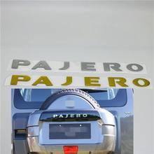 Dla Mitsubishi Pajero V31 V32 V33 tylny bagażnik klapa tylna koło zapasowe Logo symbol tabliczka znamionowa naklejki
