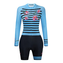 2021 Frenesi New Women Profession Triathlon Suit Long Sleeve Clothes Cycling Skinsuits Go Maillot Ropa Ciclismo Hombre Jumpsuit