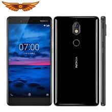 Oryginalny Nokia 7 octa-core 5.2 cala 4GB RAM 64GB ROM 16MP aparat LTE IPS LCD Dual SIM Android Smartphone odblokowany telefon komórkowy