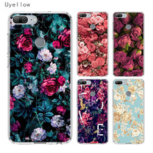 Uyellow Flower Phone Case For Huawei Honor 8A 8X 8C 8S 9 9X 10 20 lite Pro Shell Play 20i V20 Silicone Soft TPU Cover