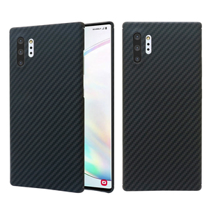 Image 3 - Carbon fiber phone case for Samsung note10 Galaxy note10 Plus Thin and light attributes Half encirclement Aramid fiber material