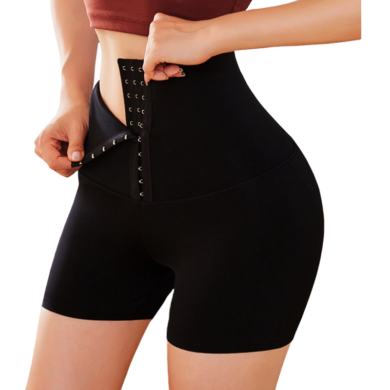 Twinso High Waist Trainer Lift Up Butt Lifter Body Shaper with Hooks Firm Tummy Control Panties Shapewear Thigh Slimmer Girdles