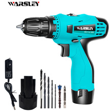 12V power tool cordless electric screwdriver electric screwdriver hand drill lithium battery charging drill +7 drill bit hilda 16 8v electric screwdriver lithium battery 2 electric drill furadeira cordless screwdriver power tools with drill bit case