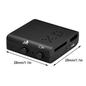 XD Mini caméra 1080P avec Vision nocturne et détection de mouvement pour voiture de bureau à domicile Micro caméra de nounou cachée
