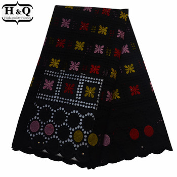 2019 Hollow Out Lace African Embroidered Dry Lace Fabric With High Quality Nigerian Cotton Lace Swiss Voile Lace In Switzerland