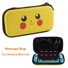 PU saklama çantası nintendo anahtarı Lite sert EVA seyahat çantası için silikon kapak cilt nintendo anahtarı NS Lite koruyucu aksesuarları