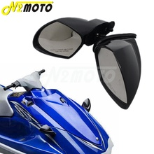 1 para motorówka Jet Ski Rearview dla Yamaha PWC WaveRunner VX 110 Deluxe VX110 Cruiser Sport jacht boczne lusterka L & R