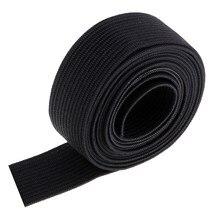 1.5 metre/1.6 metre uzun düz elastik bantlar elastik kordon makara dikiş bantları DIY