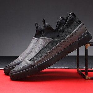 Мужские кожаные лоферы, лоферы для вождения, Zapatos Mujer, Chaussure Homme, дизайнерские черные мужские повседневные кроссовки на плоской подошве, LM-32