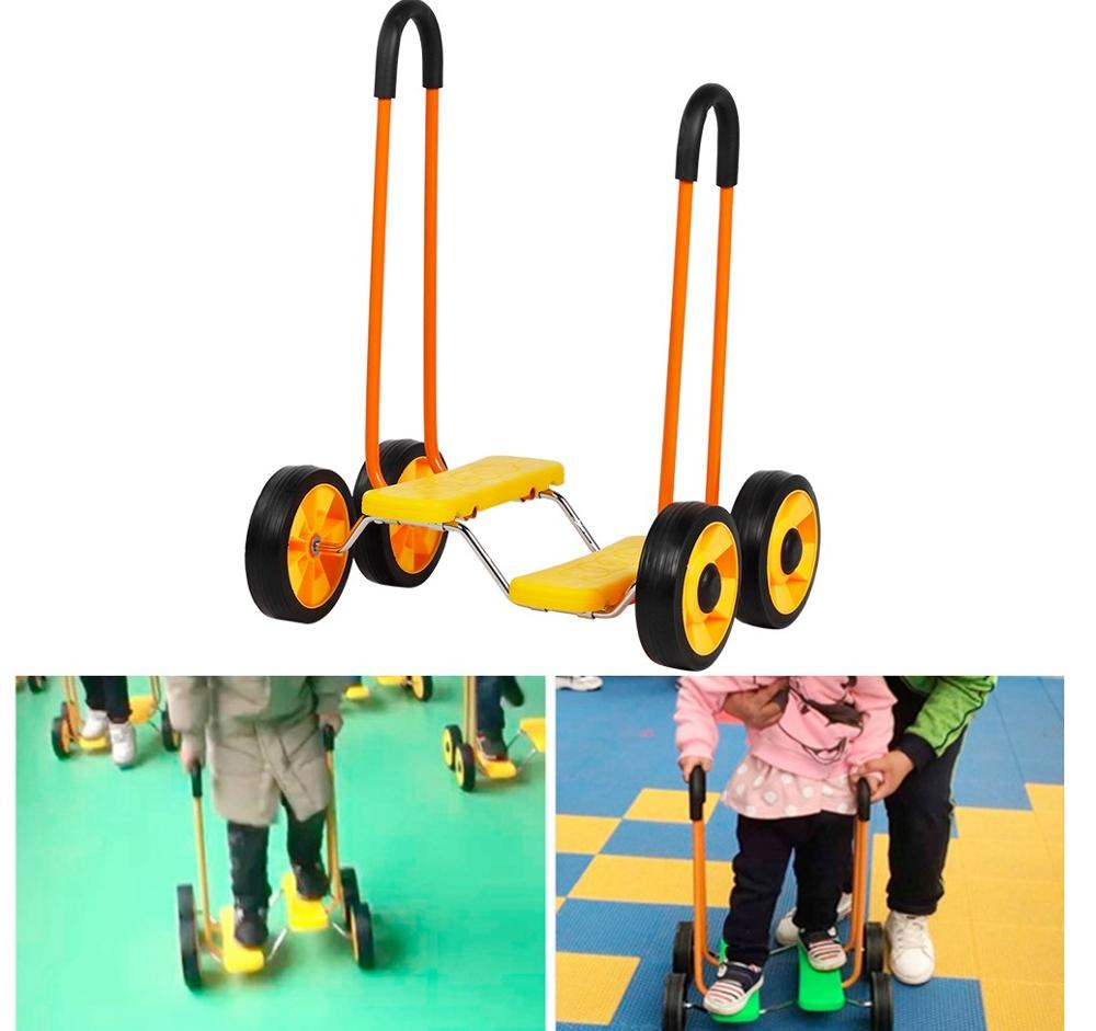Balance Bike Kindergarten-Equipment Bicycle-Safe Cycling Kids Children Training for Lighweight title=