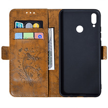 Retro wallet phone case For redmi 6a 6pro leather clamshell note 4  5 3 note3pro