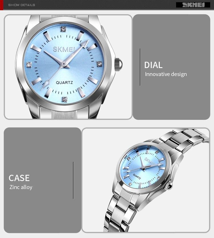 H10d9a2e87c42431ebf7d43c16d8ec0eeB 2020 SKMEI Casual Women Romantic Quartz Watches Luxury Female Girl Clock Waterproof Ladies Wristwatches Relogio Feminino 1620