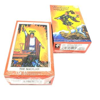 78 cards set English version Tarot Card Divination Fate Tarot Deck Board Game Cards Rider Waite Tarot desk game for party