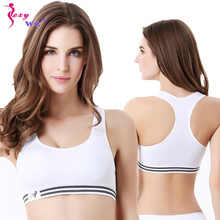 SEXYWG Seamless Sports Bra for Women Wirefree Padded Yoga Bras Sexy Underwear Athletic Vest Sport Tops Fitness Running Tank Top
