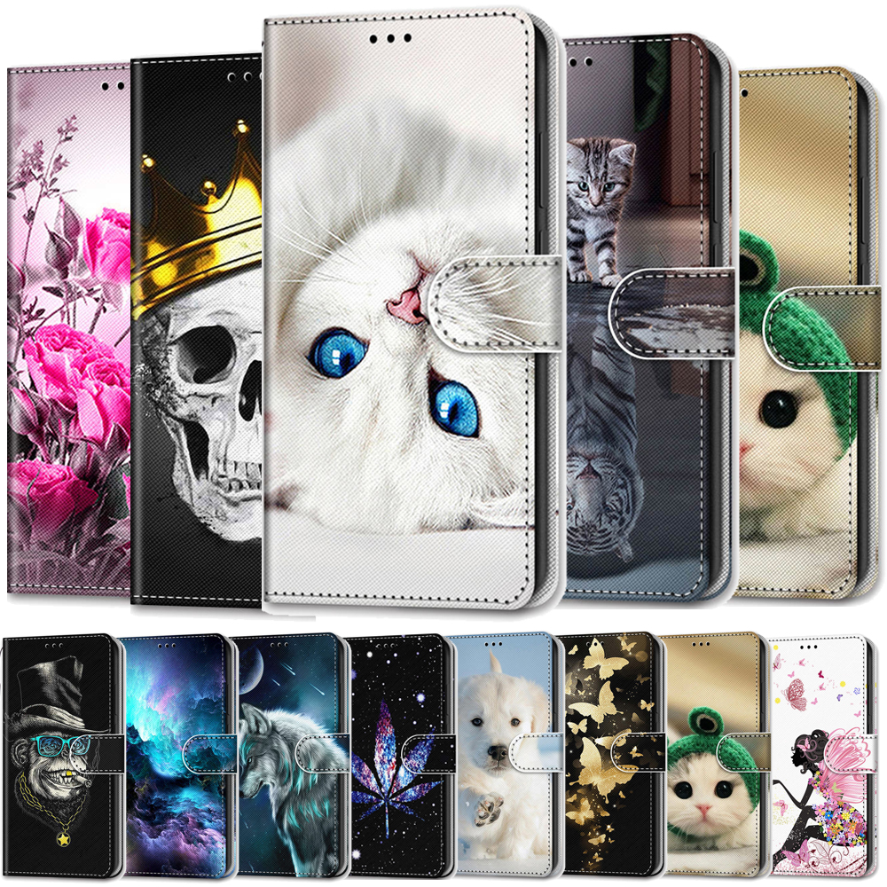 For <font><b>Huawei</b></font> <font><b>Honor</b></font> <font><b>7s</b></font> 8s <font><b>Case</b></font> Leather Wallet <font><b>Flip</b></font> Cover for <font><b>Huawei</b></font> 20 30 Pro <font><b>Case</b></font> Luxury Mobile Phone <font><b>Case</b></font> For <font><b>Huawei</b></font> Nova 5 Pro image