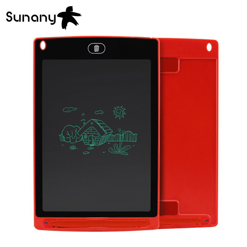 Sunany Lcd Writing Tablet 8.5'' Inch Electronic Drawing Writing Board Handwriting Pads Ultra-thin Board With Pen Erase Button