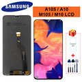 For Samsung Galaxy A10 M10 Display A105F A105 /DS SM-A105F M105 SM-M105F LCD Touch Screen Digitizer Display M105F LCD