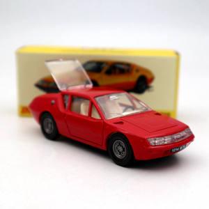Image 2 - אטלס 1:43 Dinky צעצועי 1411 עבור ALPINE רנו A310 אדום Diecast מודלים אוסף אוטומטי רכב
