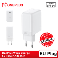 New Original OnePlus Warp Charge 65 Power Adapter EU plug For OnePlus 8T Warp Charge 30 for OnePlus 8 Pro/8/7T Pro Fast Charge