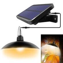 LED Solar Lamp Chandelier Courtyard Indoor Garden Split Light Camping Home Garden Lighting with Line Outdoor Solar Light