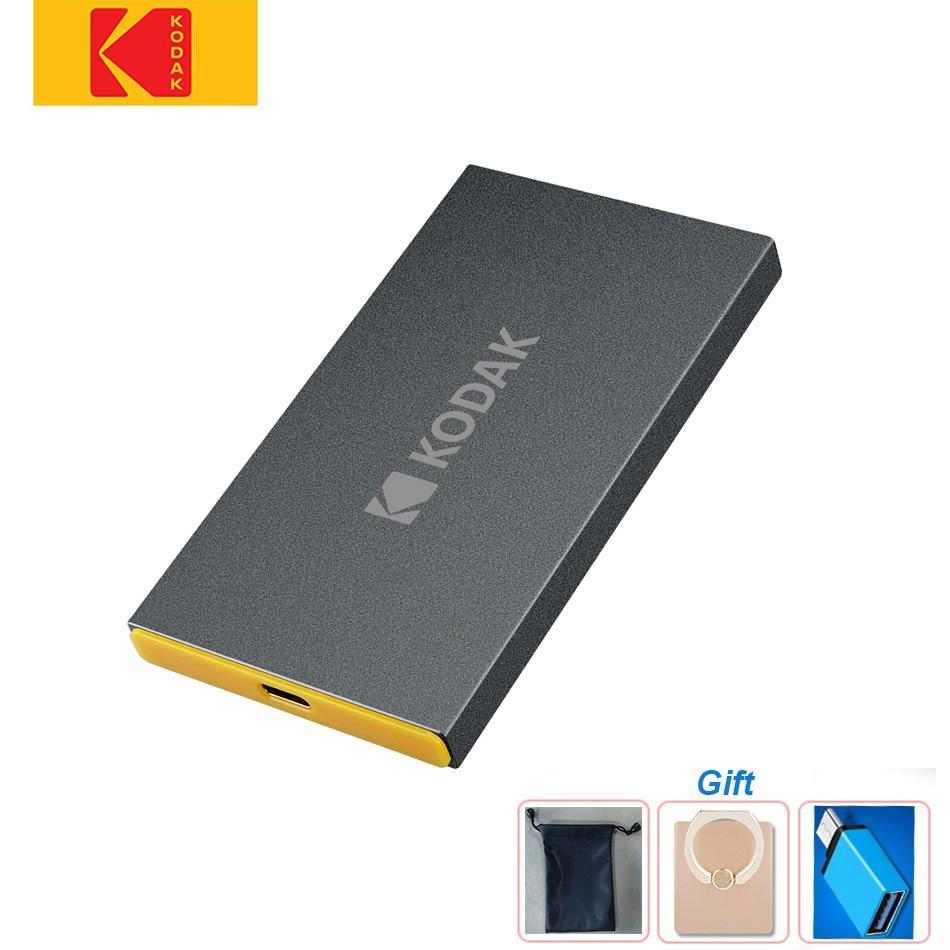 KODAK X250  disco duro externo ssd  USB3.1 GEN  external hard drive Type c 3.1 Portable solid state 120GB 240GB 480GB 960GB SSD