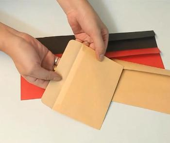 100pcs / lot , Vintage Blank Kraft Envelopes as Gift Envelopes for Birthday Wedding 1