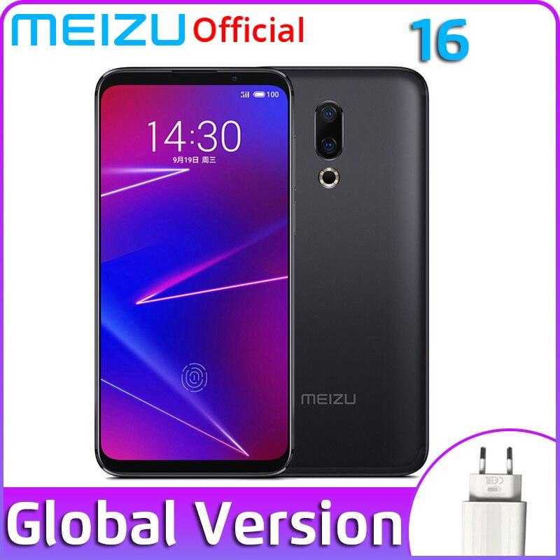 Global Version Meizu 16 16X 6GB 64GB 128GB Snapdragon 710 Octa Core 6.0